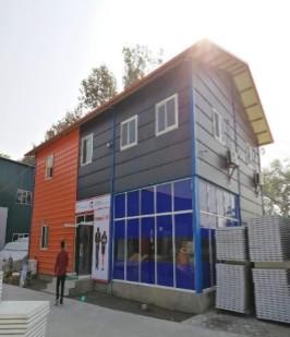 Construction of Prefab Shelter