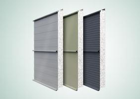 Zinc Wall Panel